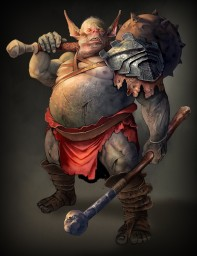 Fat Orc (IMAGINE FX)